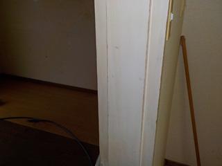 壁面柱のアフター