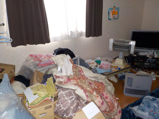 部屋2のビフォア