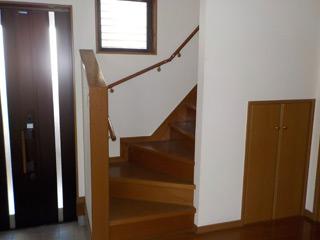 養生作業(階段)のアフター