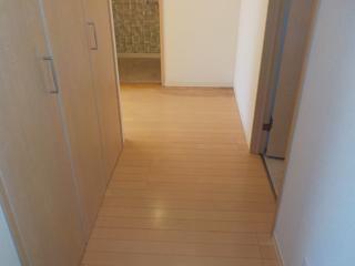 廊下のアフター