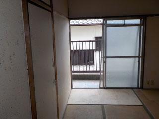 部屋3の中のアフター