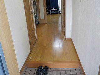 玄関のアフター