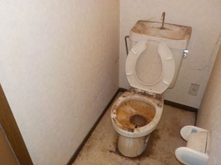 トイレのアフター