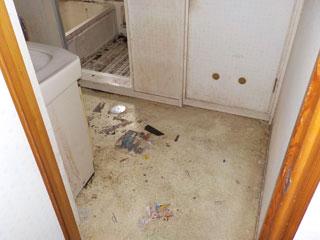 洗面廊下のアフター