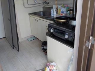 玄関~キッチンのビフォア