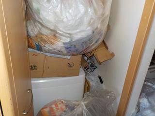 洗濯置き場のビフォア