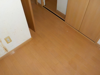 床のアフター