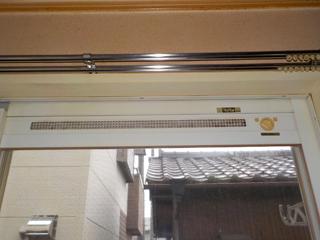 窓枠上部のアフター