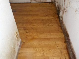床の撤去後アフター(清掃後)