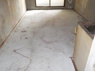 2部屋目の部屋のアフター(カーペット撤去後)
