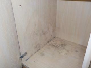 3部屋目のクローゼット内部のビフォア
