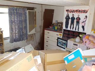 部屋1右奥のビフォア