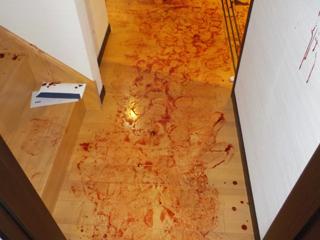階段下廊下のビフォア