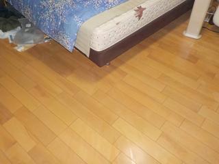 寝室のアフター