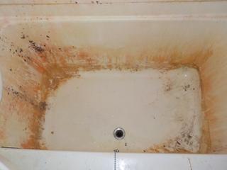 浴槽の撤去後